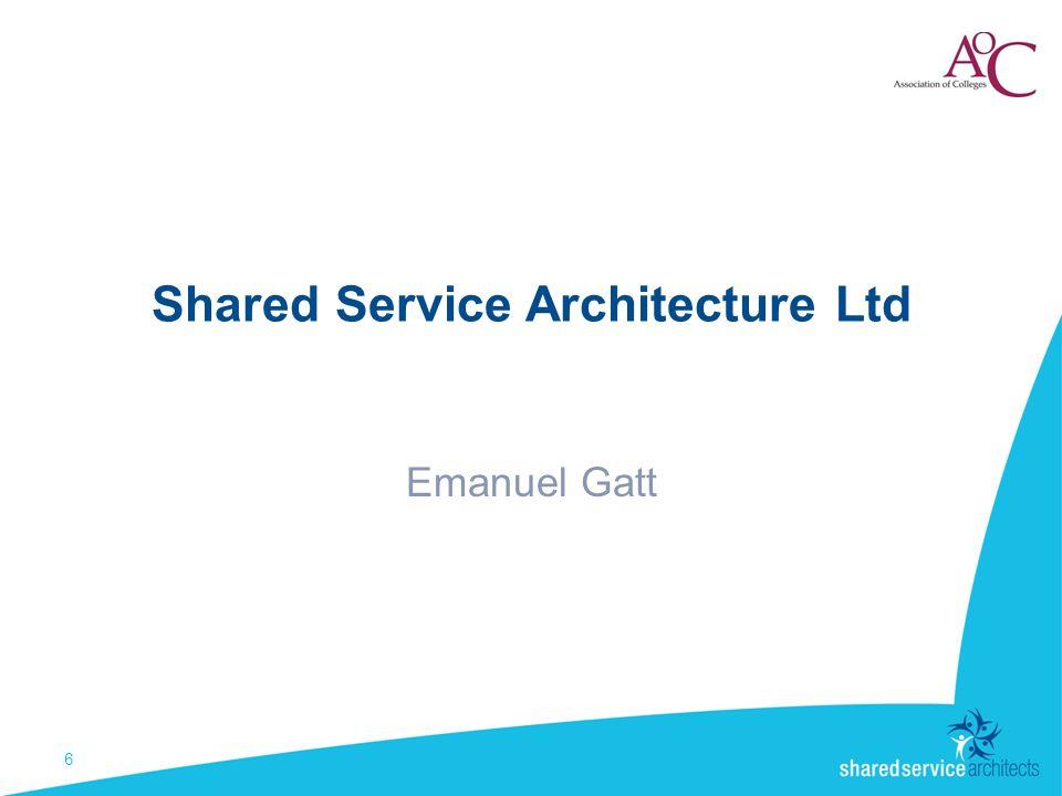 Shared Service Architecture Ltd Emanuel Gatt 6