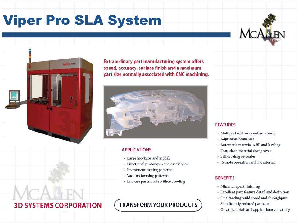 Viper Pro SLA System