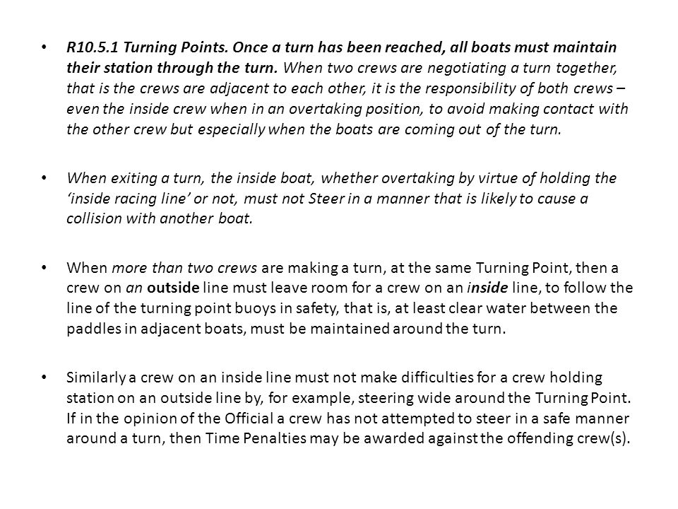 R10.5.1 Turning Points.