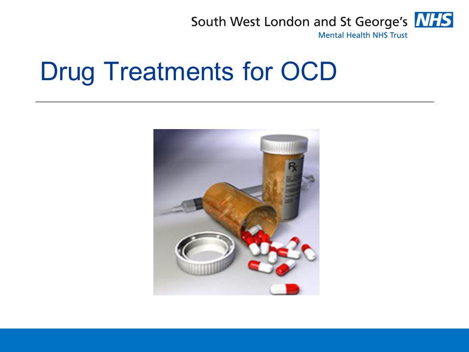 Drug Treatments for OCD