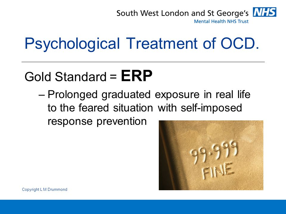 Psychological Treatment of OCD.