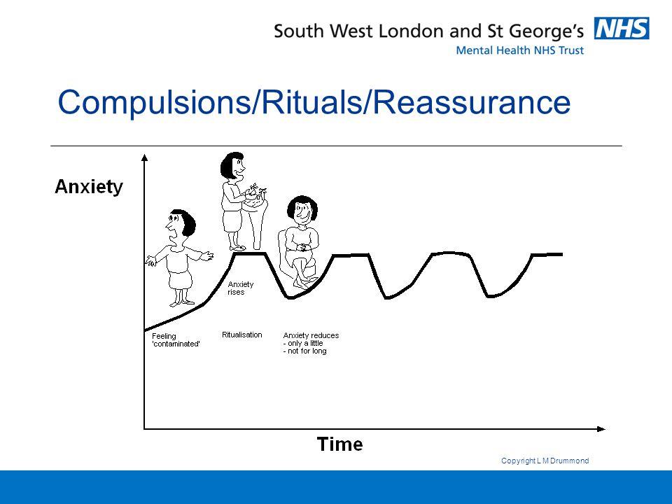 Compulsions/Rituals/Reassurance Copyright L M Drummond