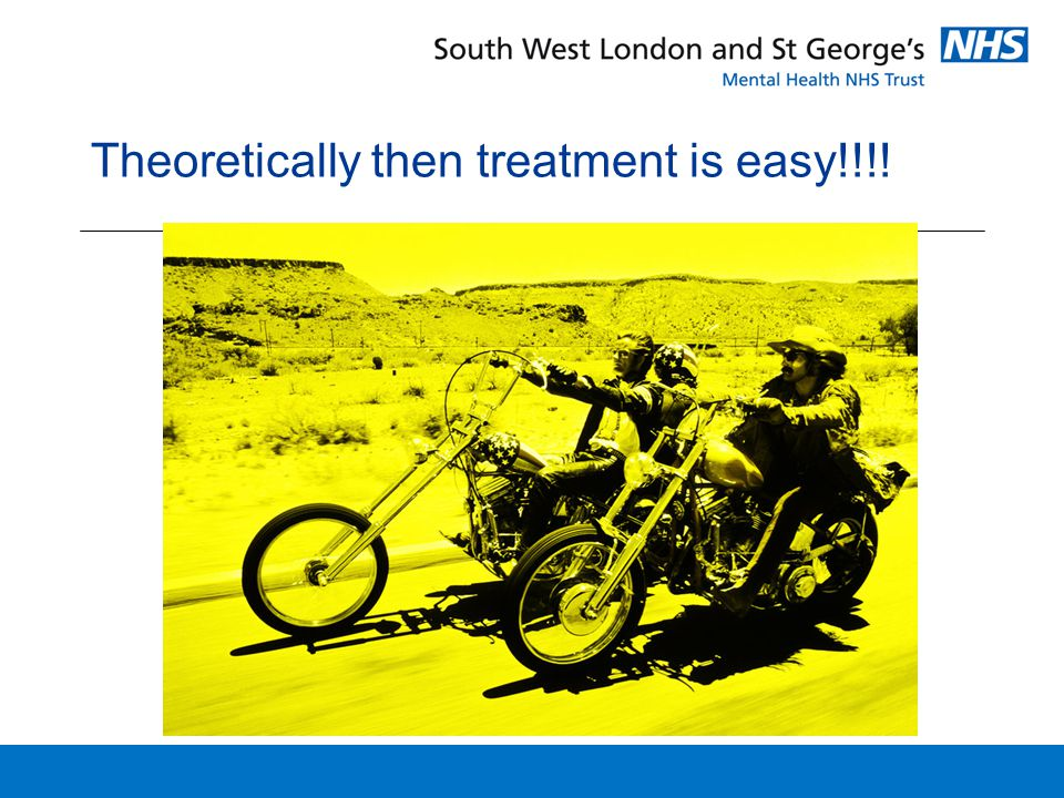 Theoretically then treatment is easy!!!!