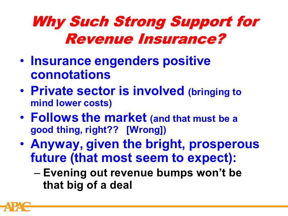 APCA What is the Prosperous Future Argument.