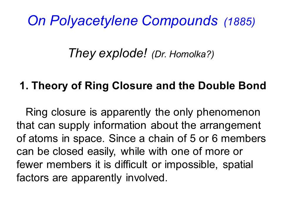 On Polyacetylene Compounds (1885) 1.