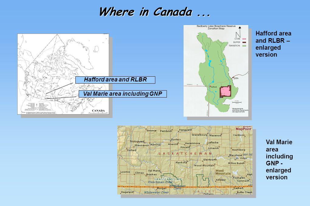 Where in Canada...