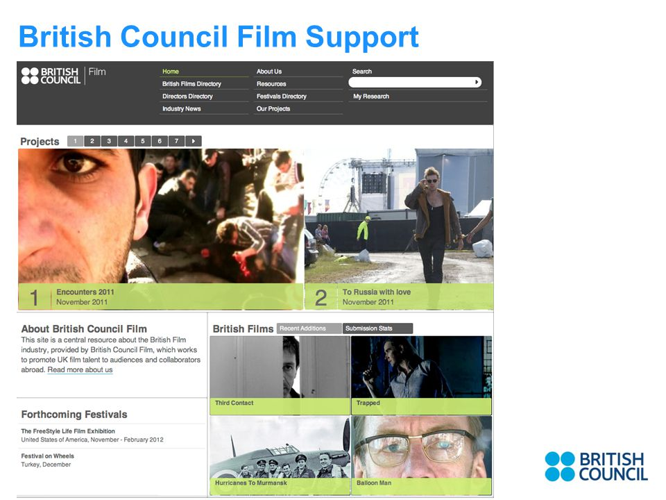 British Council Film Support