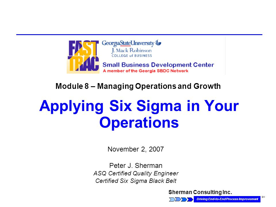 Sherman Consulting Inc.