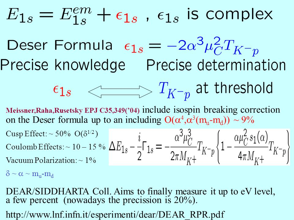 Reproduction of the data by the new A-type fits (agree with DEAR) of JAO, EPJA28,63('06)