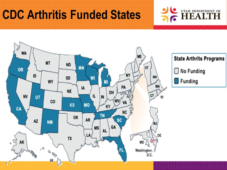 Living Well with Chronic Conditions Stanford Model of CDSMP Resources –Stanford University's site on CDSMP http://patienteducation.stanford.edu http://patienteducation.stanford.edu –Utah Arthritis Program (class schedules) http://health.utah.gov/arthritis http://health.utah.gov/arthritis –Administration on Aging: www.aoa.govwww.aoa.gov –National Council on Aging: http://healthyagingprograms.org http://healthyagingprograms.org