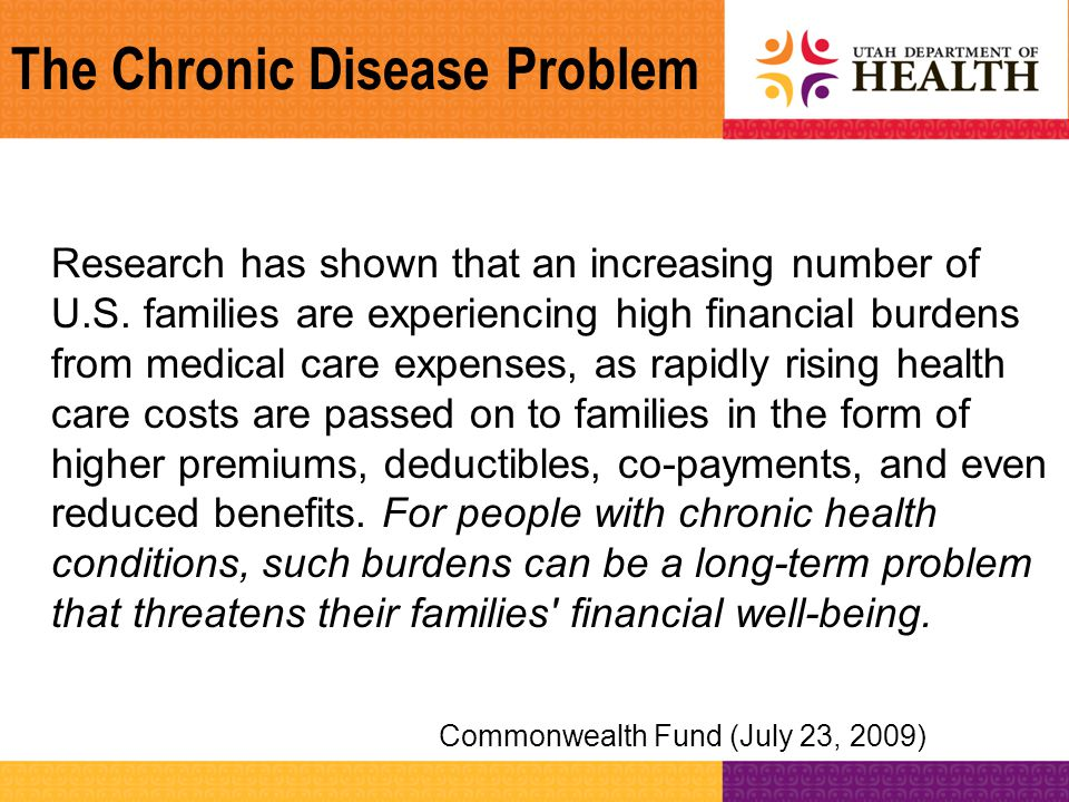 Living Well with Chronic Conditions Stanford Model of CDSMP Patient Engagement Activities –Participants learn how to identify problems –Participants learn how to act on problems –Participants learn how to generate short-term action plans –Participants learn problem-solving skills related to chronic conditions in general