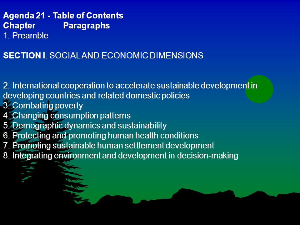 Sector Examples l Agriculture l Forestry l Mining l Fisheries l Materials (metals, plastics, cement, chemicals, nanotechnologies) l Energy l Transportation (air, land, water) l Construction/Building mgt l Water/sewage l Tourism l Education l Finance/Banking/ Insurance l Retail and wholesale l Health l Governance/participation l Elderly, youth, gender Life cycle approach