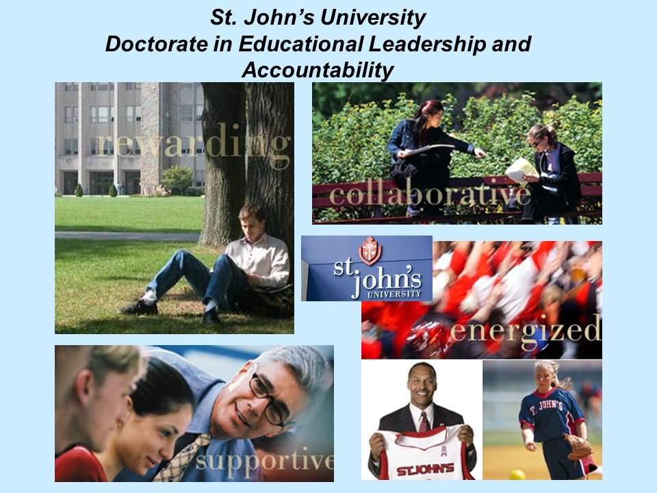 St. John's University Doctorate in Educational Leadership and Accountability