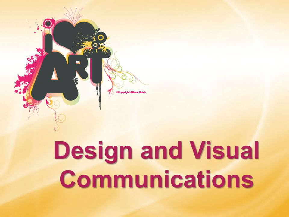 Design and Visual Communications
