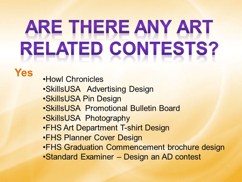 Yes Howl Chronicles SkillsUSA Advertising Design SkillsUSA Pin Design SkillsUSA Promotional Bulletin Board SkillsUSA Photography FHS Art Department T-shirt Design FHS Planner Cover Design FHS Graduation Commencement brochure design Standard Examiner – Design an AD contest