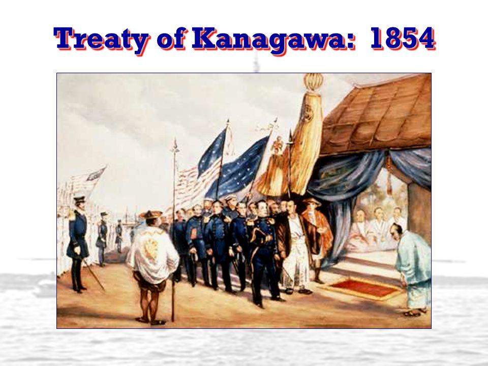 Treaty of Kanagawa: 1854