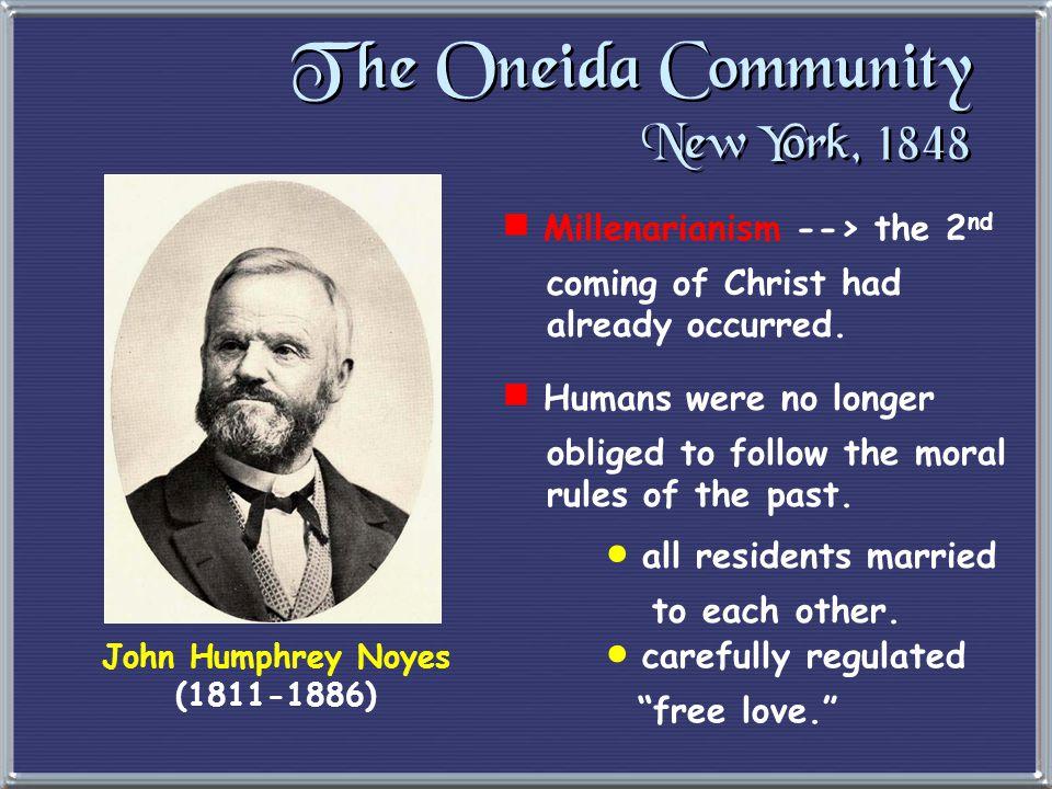 3. Utopian Communities