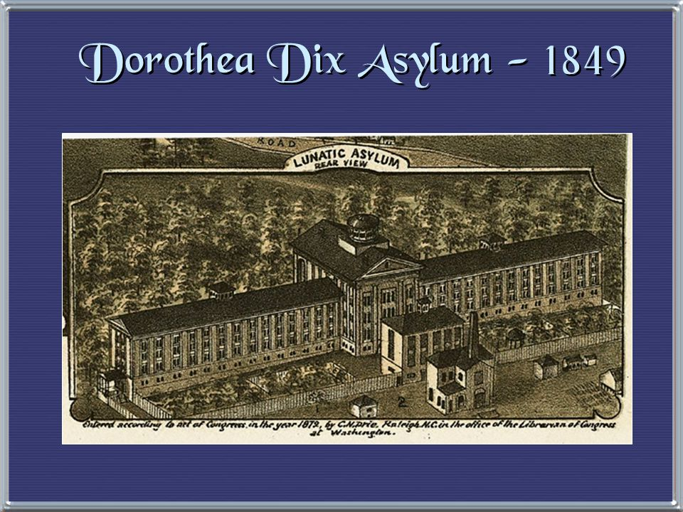 Penitentiary Reform Dorothea Dix (1802-1887) 1821  first penitentiary founded in Auburn, NY R1-5/7