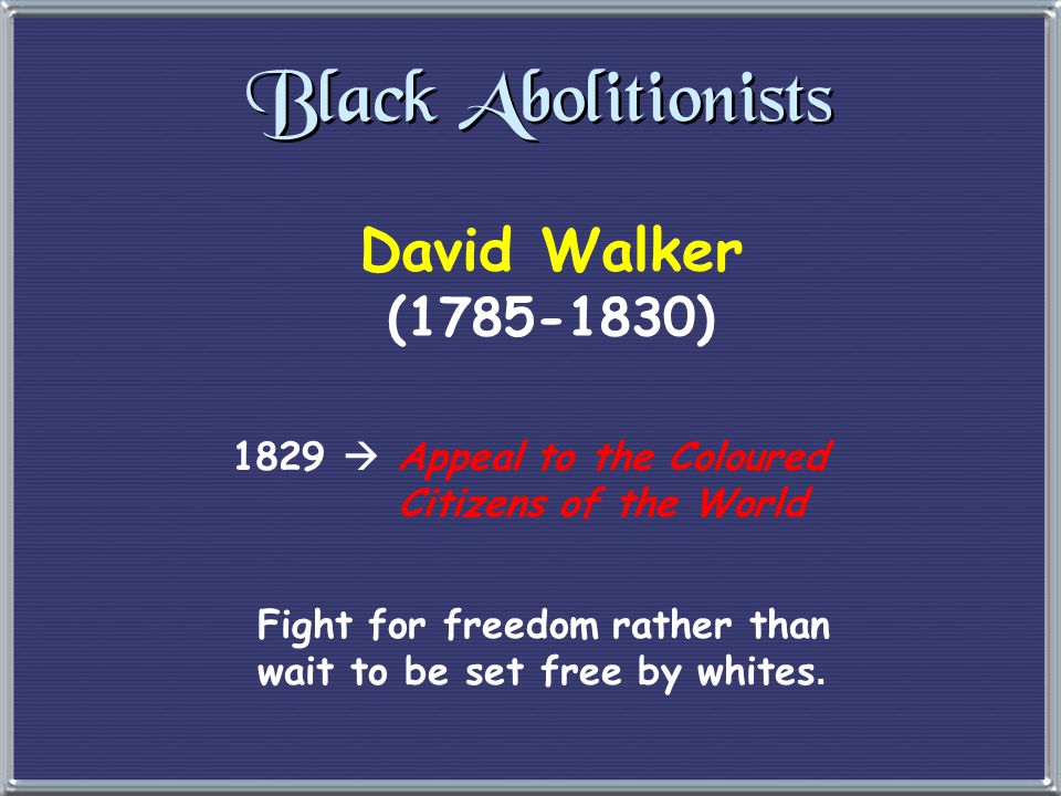 Other White Abolitionists Lewis Tappan Arthur Tappan James Birney eLiberty Party.