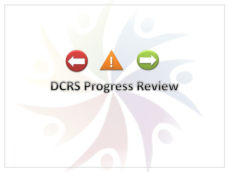 Where We've Come From Where We Are Now Wider Agendas DCRS SWOT Analysis Where We're Headed DCRS Strategy DCRS New Developments !