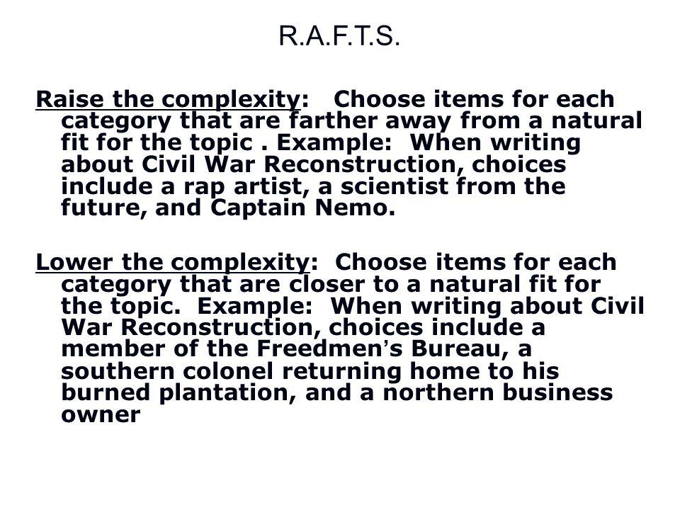 R.A.F.T.S.