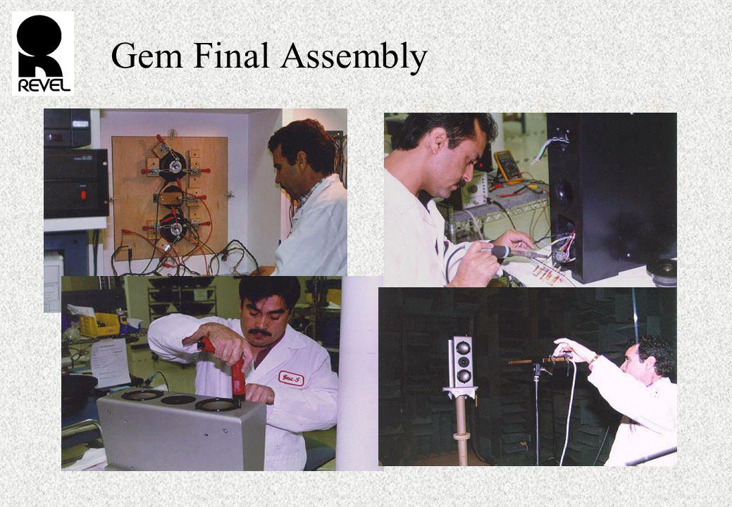 Gem Final Assembly