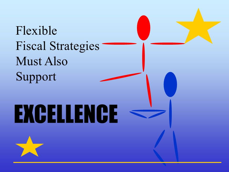 Flexible Fiscal Strategies Must Also Support EXCELLENCE