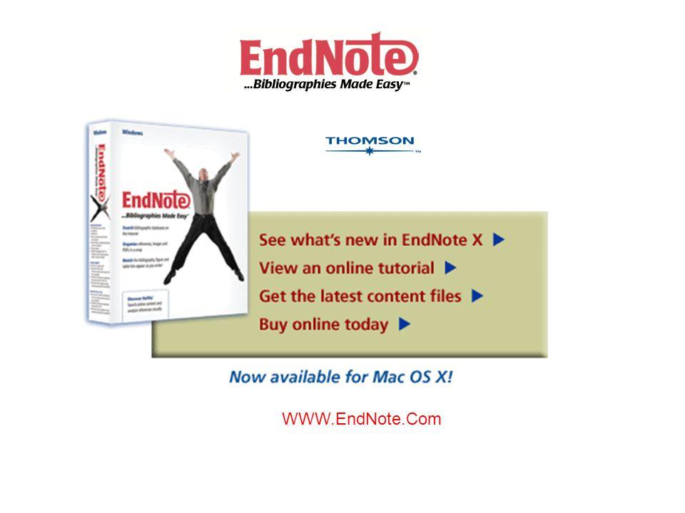 WWW.EndNote.Com