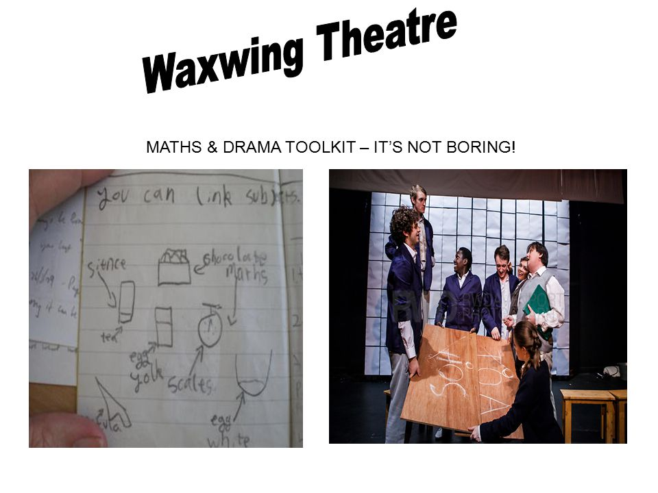 MATHS & DRAMA TOOLKIT – IT'S NOT BORING!
