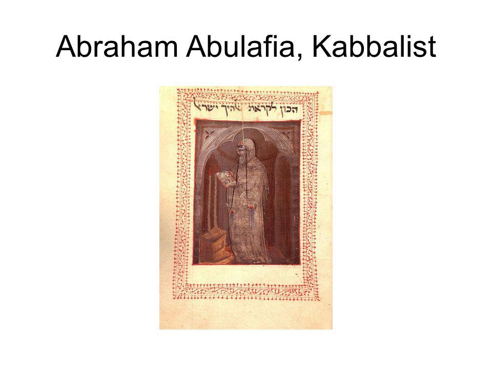Abraham Abulafia, Kabbalist