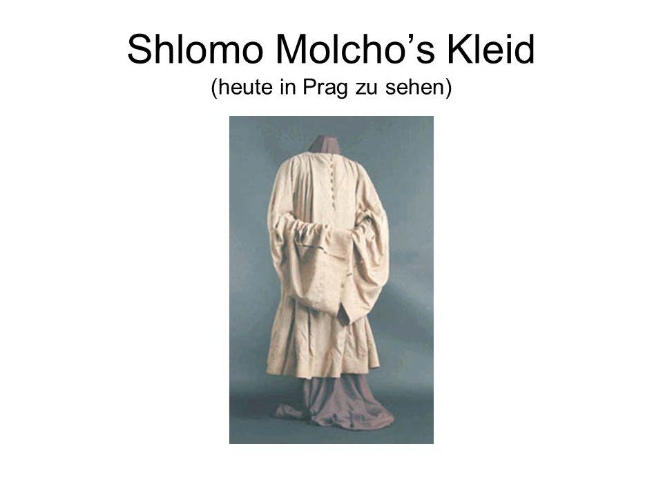 Shlomo Molcho's Kleid (heute in Prag zu sehen)