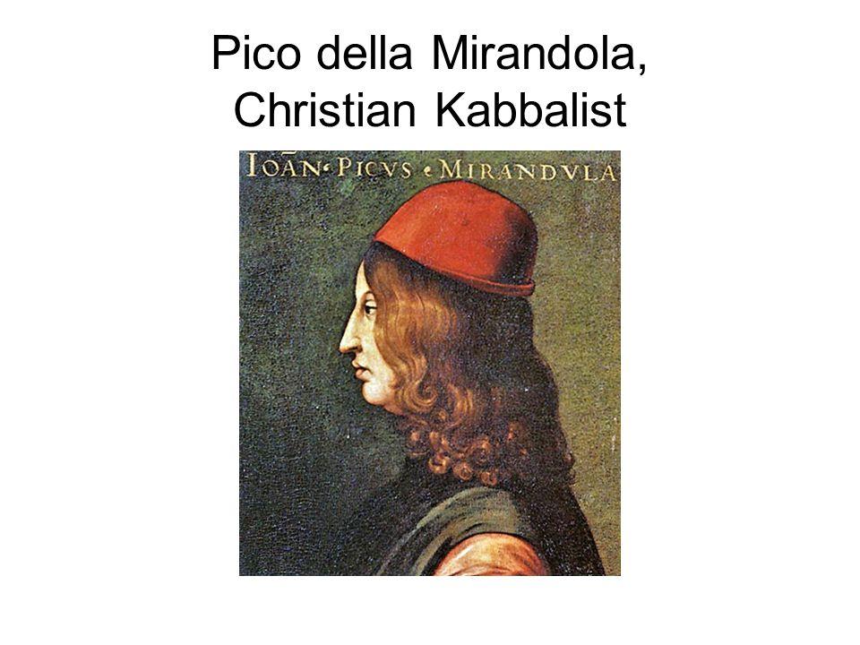 Pico della Mirandola, Christian Kabbalist