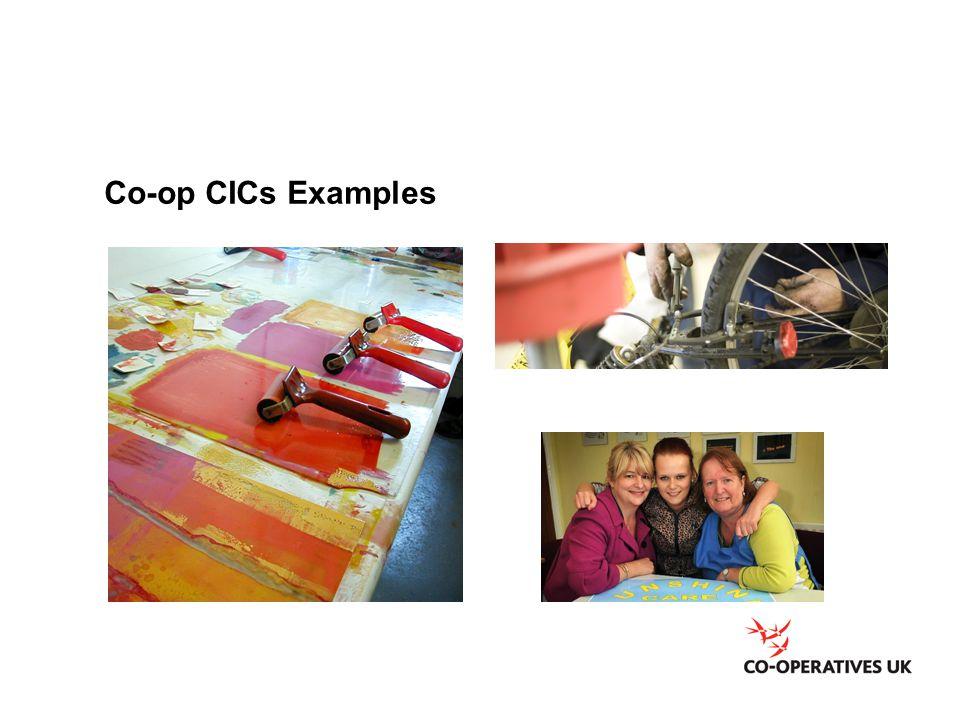 Co-op CICs Examples