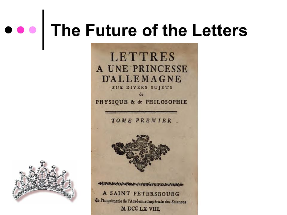 The Future of the Letters