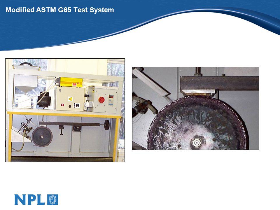 Modified ASTM G65 Test System