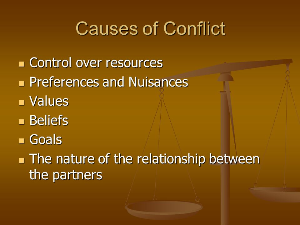 Positive Effects of Conflict Promotes Growth in an Relationship Promotes Growth in an Relationship Allows for Healthy Release of Feelings Allows for Healthy Release of Feelings Increases Motivation and Self-Esteem Increases Motivation and Self-Esteem