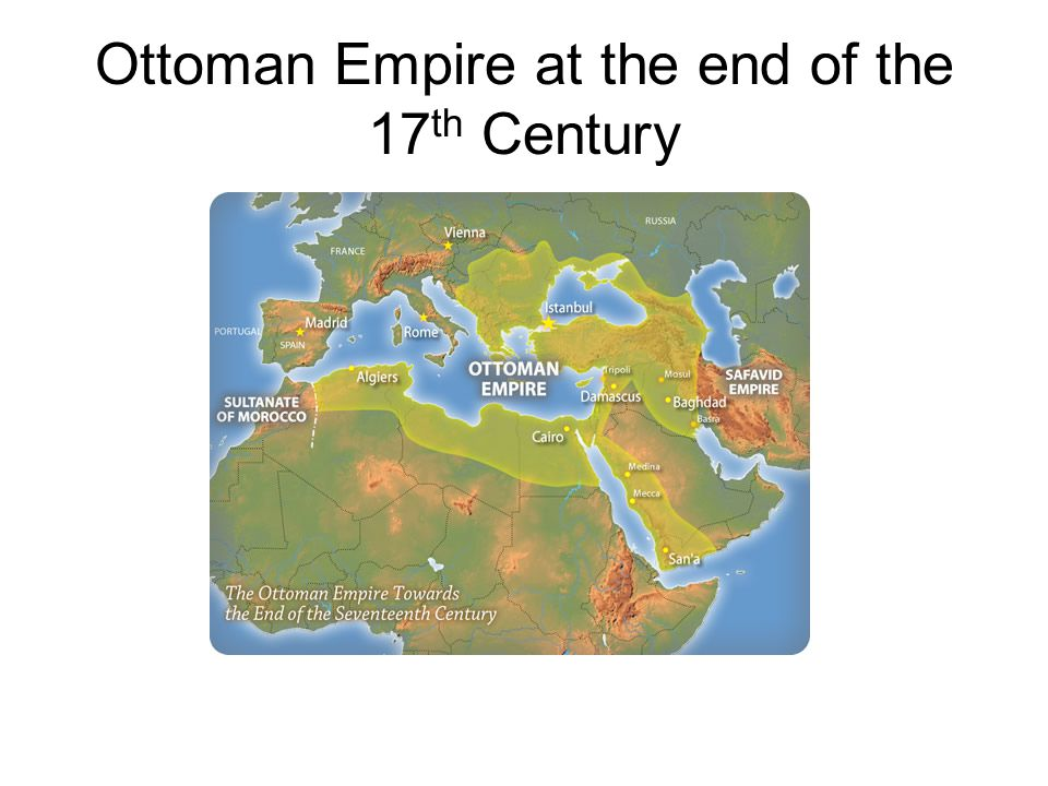 The Ottoman Empire Expands Ottomans started out as semi-nomadic Turks 1453 captured Constantinople, ended the Byzantine Empire (woohoo, lower taxes!) Added Syria, Egypt, North Africa to their empire Ottomans were a threat to the Hapsburg dynasty (Austria) until 1683