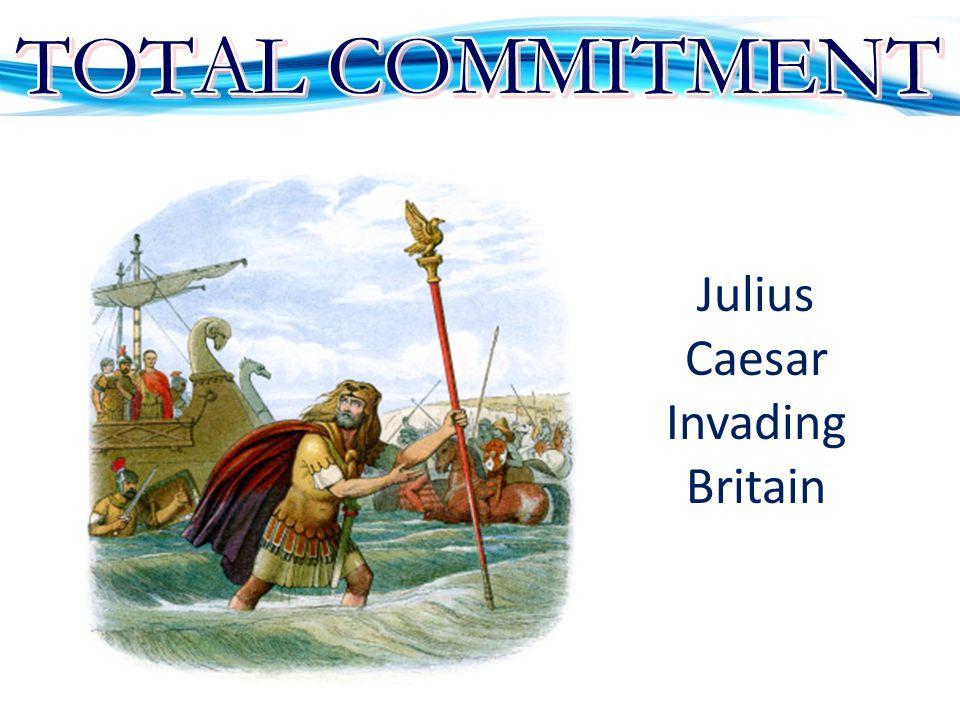 Julius Caesar Invading Britain