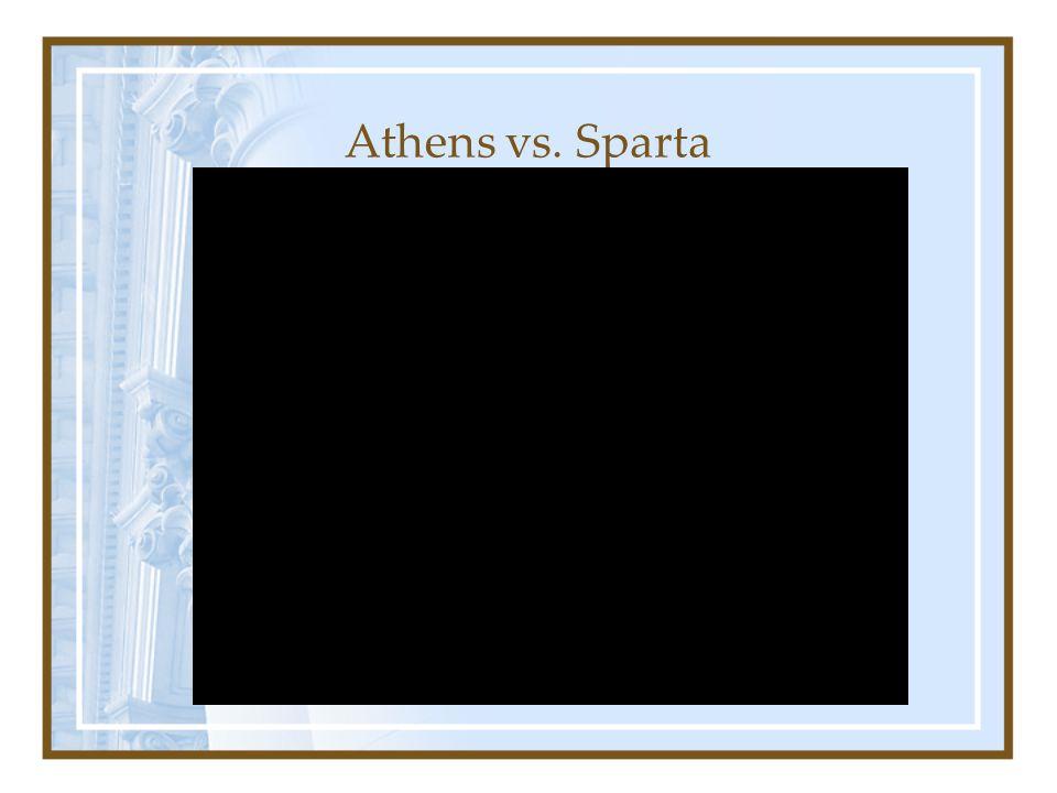 Athens vs. Sparta