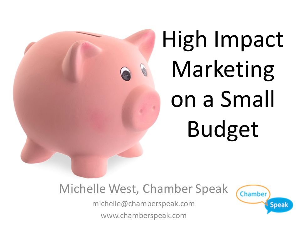 High Impact Marketing on a Small Budget Win Stuff! Video Accessory Kit – Microphone, Tripod and light Tweet this  @ChamberSpeak – Enter Me! #ACCE2014