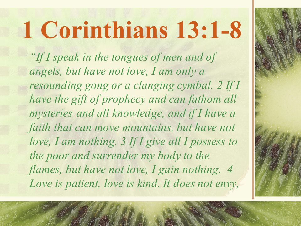 1 Corinthians 13:1-8 it does not boast, it is not proud.