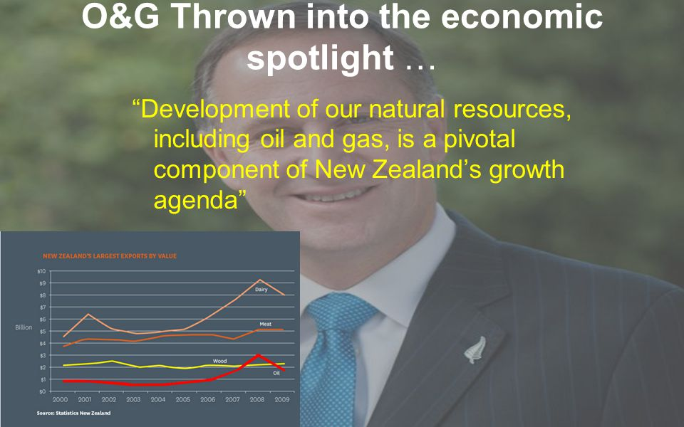 Development of our natural resources, including oil and gas, is a pivotal component of New Zealand's growth agenda O&G Thrown into the economic spotlight …