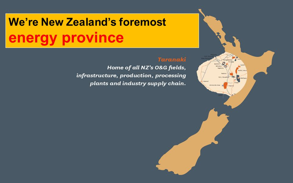 We're New Zealand's foremost energy province