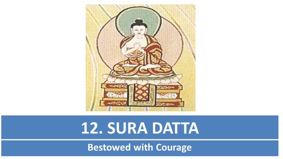 12. SURA DATTA Bestowed with Courage