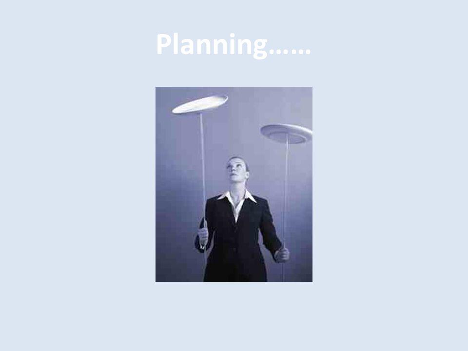 Planning……