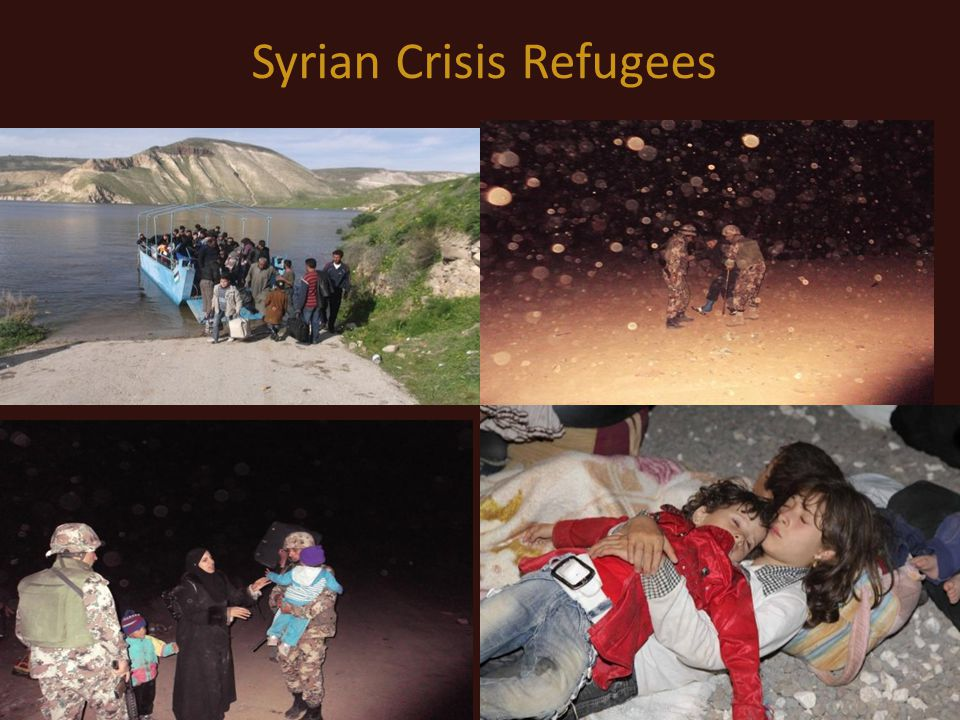 Syrian Crisis Refugees