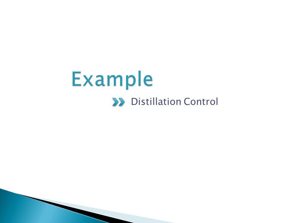 Distillation Control