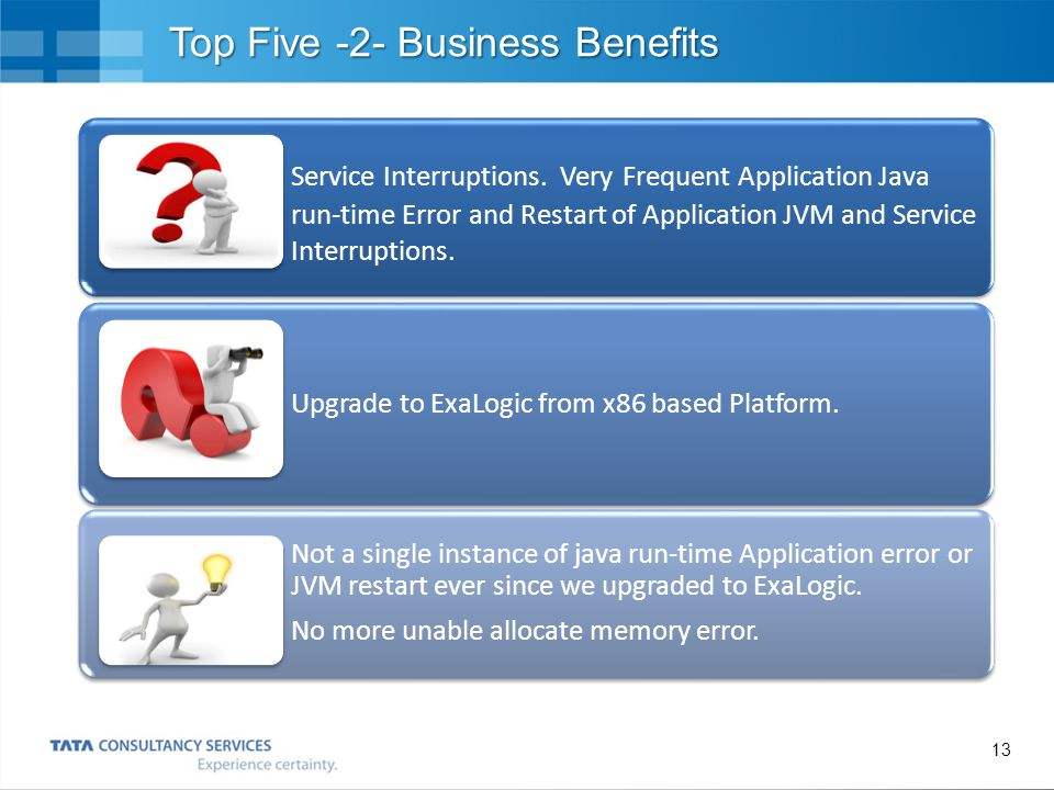 14 Top Five-3- Business Benefits Data Consolidation between databases.