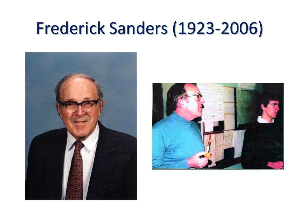 Frederick Sanders (1923-2006)