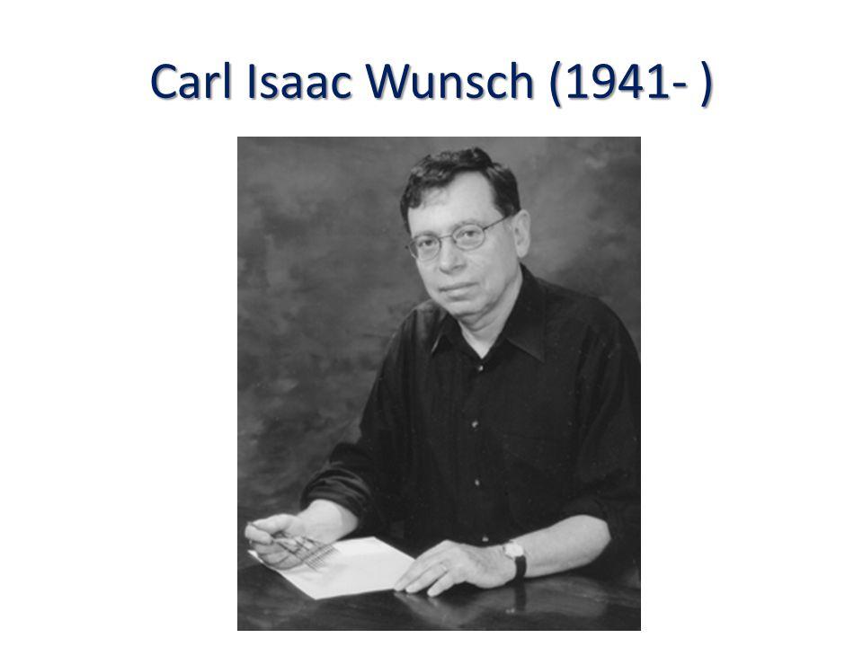 Carl Isaac Wunsch (1941- )